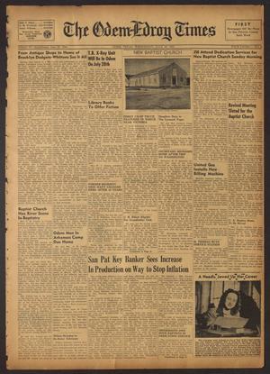 The Odem-Edroy Times (Odem, Tex.), Vol. 4, No. 4, Ed. 1 Wednesday, July 18, 1951