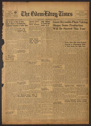 The Odem-Edroy Times (Odem, Tex.), Vol. 3, No. 51, Ed. 1 Wednesday, June 13, 1951