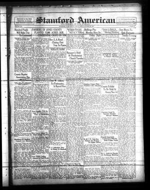 Stamford American (Stamford, Tex.), Vol. 13, No. 31, Ed. 1 Friday, October 30, 1936