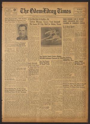 The Odem-Edroy Times (Odem, Tex.), Vol. 3, No. 15, Ed. 1 Wednesday, September 20, 1950