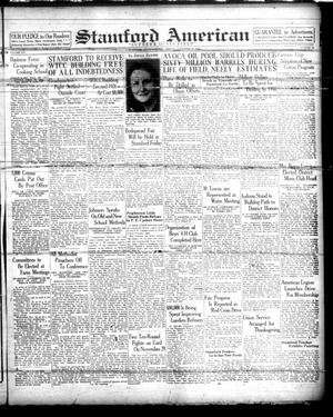 Primary view of Stamford American (Stamford, Tex.), Vol. 14, No. 34, Ed. 1 Friday, November 19, 1937