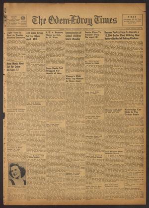 The Odem-Edroy Times (Odem, Tex.), Vol. 3, No. 45, Ed. 1 Wednesday, April 11, 1951