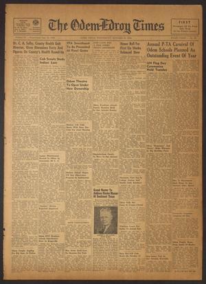 The Odem-Edroy Times (Odem, Tex.), Vol. 3, No. 20, Ed. 1 Wednesday, October 25, 1950