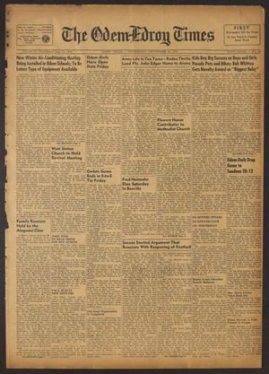The Odem-Edroy Times (Odem, Tex.), Vol. 4, No. 14, Ed. 1 Wednesday, September 26, 1951