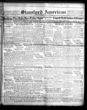Stamford American (Stamford, Tex.), Vol. 14, No. 25, Ed. 1 Friday, September 17, 1937