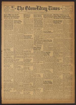 The Odem-Edroy Times (Odem, Tex.), Vol. 3, No. 13, Ed. 1 Wednesday, September 6, 1950