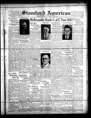 Stamford American (Stamford, Tex.), Vol. 13, No. 43, Ed. 1 Friday, January 22, 1937