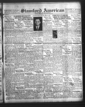 Stamford American (Stamford, Tex.), Vol. 14, No. 4, Ed. 1 Friday, April 23, 1937