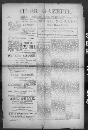 Primary view of object titled 'Shiner Gazette. (Shiner, Tex.), Vol. 6, No. 17, Ed. 1, Wednesday, September 21, 1898'.