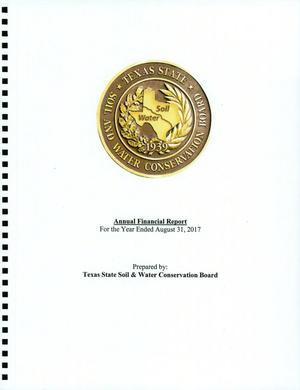 Texas State Soil & Water Conservation Board Annual Financial Report: 2017