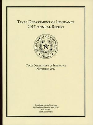 Texas Department of Insurance Annual Report: 2017