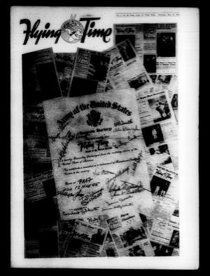 Primary view of object titled 'Flying Time (Pecos Army Air Field, Pecos, Tex.), Vol. [4], No. [28], Ed. 1 Saturday, May 12, 1945'.