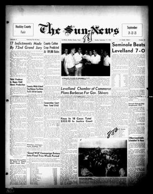Primary view of object titled 'The Sun-News (Levelland, Tex.), Vol. 10, No. 18, Ed. 1 Sunday, September 17, 1950'.