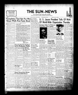Primary view of object titled 'The Sun-News (Levelland, Tex.), Vol. 9, No. 4, Ed. 1 Sunday, June 13, 1948'.