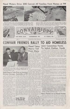 Primary view of object titled 'Convairiety, Volume 2, Number 11, May 25, 1949'.