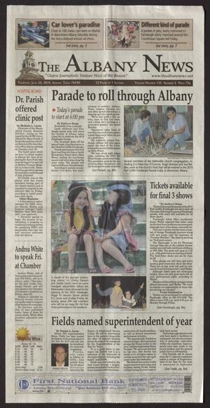 The Albany News (Albany, Tex.), Vol. 135, No. 5, Ed. 1 Thursday, June 24, 2010