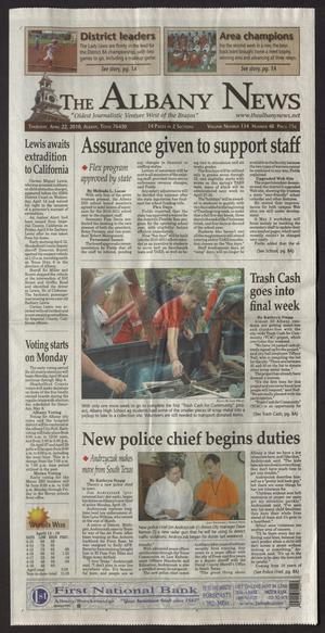 The Albany News (Albany, Tex.), Vol. 134, No. 48, Ed. 1 Thursday, April 22, 2010