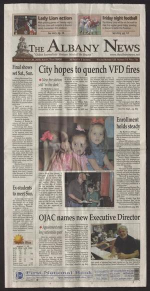 The Albany News (Albany, Tex.), Vol. 135, No. 14, Ed. 1 Thursday, August 26, 2010