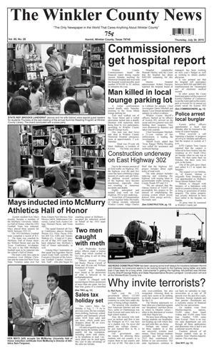 The Winkler County News (Kermit, Tex.), Vol. 80, No. 28, Ed. 1 Thursday, July 30, 2015