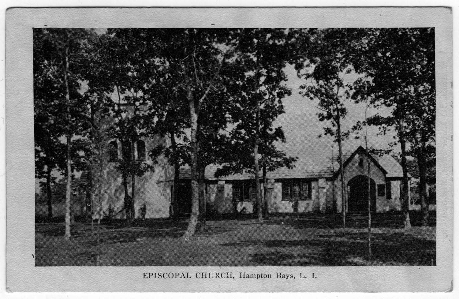 [Episcopal Church, Hampton Bays, L.I. New York]                                                                                                      [Sequence #]: 1 of 1