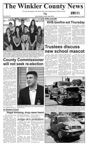 The Winkler County News (Kermit, Tex.), Vol. 80, No. 35, Ed. 1 Thursday, September 17, 2015