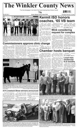The Winkler County News (Kermit, Tex.), Vol. 80, No. 5, Ed. 1 Thursday, February 12, 2015