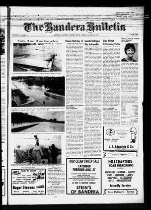 Primary view of object titled 'The Bandera Bulletin (Bandera, Tex.), Vol. 27, No. 11, Ed. 1 Friday, August 20, 1971'.