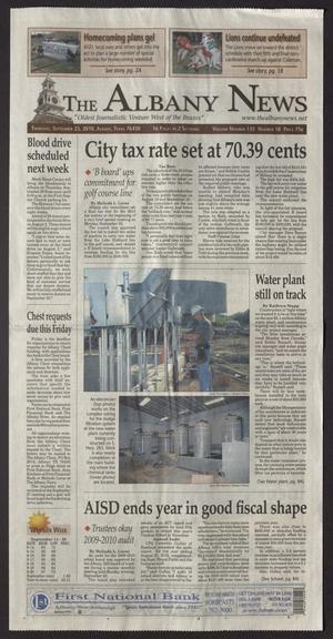 The Albany News (Albany, Tex.), Vol. 135, No. 18, Ed. 1 Thursday, September 23, 2010