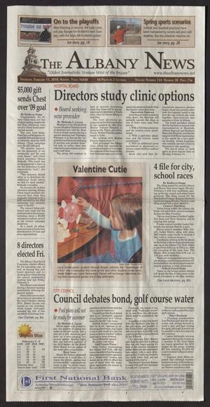 The Albany News (Albany, Tex.), Vol. 134, No. 38, Ed. 1 Thursday, February 11, 2010