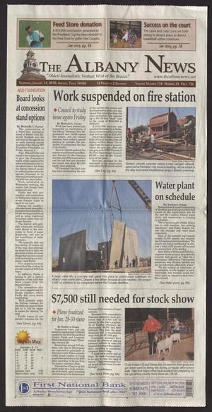 The Albany News (Albany, Tex.), Vol. 134, No. 34, Ed. 1 Thursday, January 14, 2010