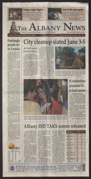 The Albany News (Albany, Tex.), Vol. 135, No. 2, Ed. 1 Thursday, June 3, 2010