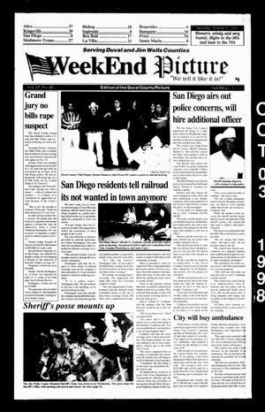 Weekend Picture (San Diego, Tex.), Vol. 13, No. 45, Ed. 1 Saturday, October 3, 1998