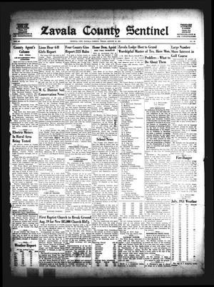 Zavala County Sentinel (Crystal City, Tex.), Vol. 40, No. 16, Ed. 1 Friday, August 10, 1951