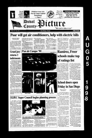 Duval County Picture (San Diego, Tex.), Vol. 13, No. 31, Ed. 1 Wednesday, August 5, 1998