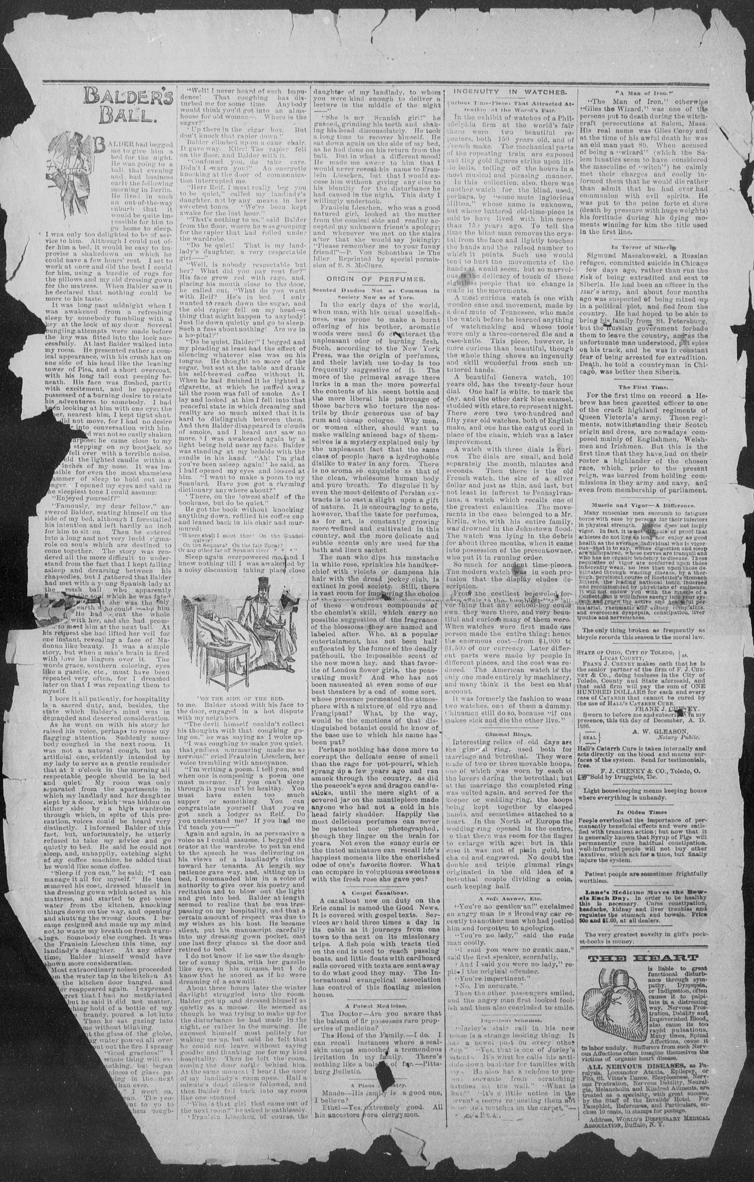 Shiner Gazette. (Shiner, Tex.), Vol. 1, No. 28, Ed. 1, Thursday, January 11, 1894                                                                                                      [Sequence #]: 2 of 8