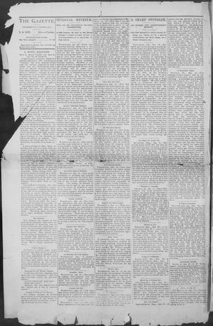 Primary view of object titled 'Shiner Gazette. (Shiner, Tex.), Vol. 1, No. 30, Ed. 1, Thursday, January 25, 1894'.