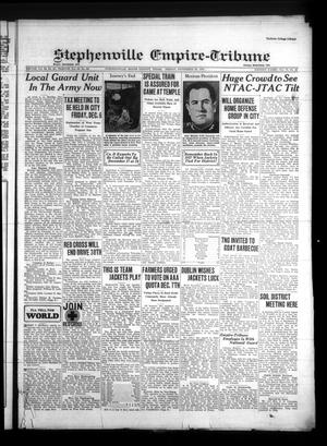 Primary view of Stephenville Empire-Tribune (Stephenville, Tex.), Vol. 70, No. 48, Ed. 1 Friday, November 29, 1940