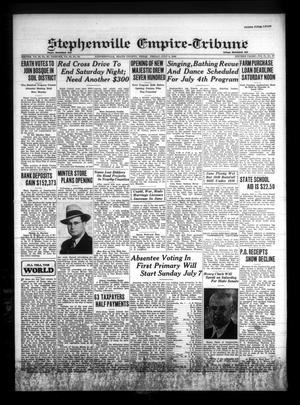Primary view of Stephenville Empire-Tribune (Stephenville, Tex.), Vol. 70, No. 27, Ed. 1 Friday, July 5, 1940