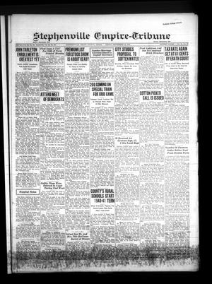Primary view of Stephenville Empire-Tribune (Stephenville, Tex.), Vol. 70, No. 37, Ed. 1 Friday, September 13, 1940