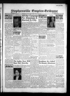 Primary view of Stephenville Empire-Tribune (Stephenville, Tex.), Vol. 71, No. 29, Ed. 1 Friday, July 18, 1941