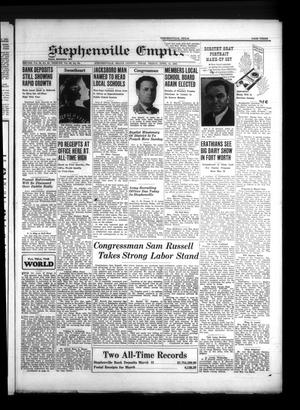 Primary view of Stephenville Empire-Tribune (Stephenville, Tex.), Vol. [71], No. [15], Ed. 1 Friday, April 11, 1941