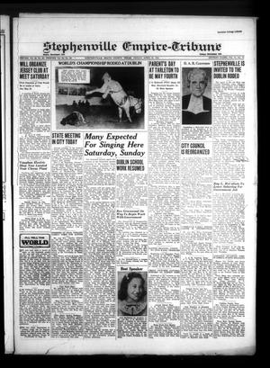 Primary view of Stephenville Empire-Tribune (Stephenville, Tex.), Vol. 71, No. 16, Ed. 1 Friday, April 18, 1941