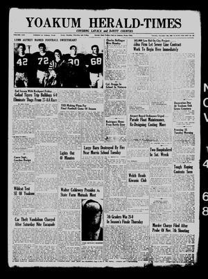 Yoakum Herald-Times (Yoakum, Tex.), Vol. 70, No. 133, Ed. 1 Thursday, November 14, 1968