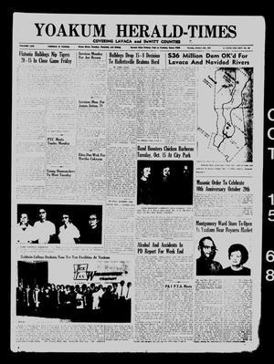 Yoakum Herald-Times (Yoakum, Tex.), Vol. 70, No. 121, Ed. 1 Tuesday, October 15, 1968