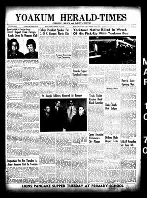 Yoakum Herald-Times (Yoakum, Tex.), Vol. 72, No. 29, Ed. 1 Tuesday, March 10, 1970