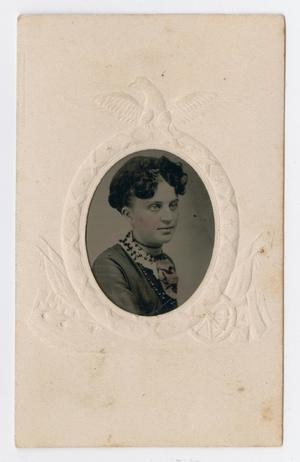 Primary view of object titled '[Portrait of Unknown Woman]'.