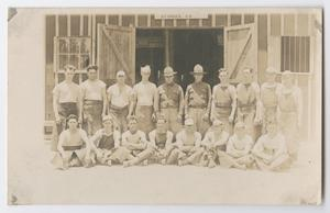 Soldiers at Camp MacArthur