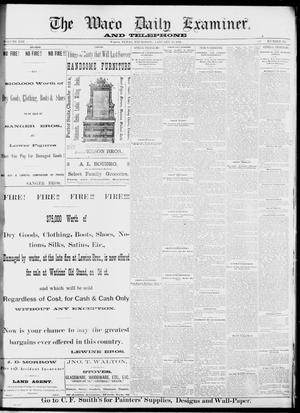 Primary view of The Waco Daily Examiner. (Waco, Tex.), Vol. 13, No. 265, Ed. 1, Thursday, January 12, 1882