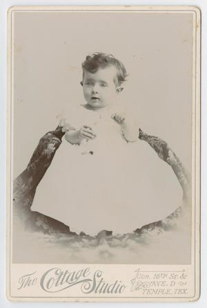 Primary view of object titled '[Child in White]'.