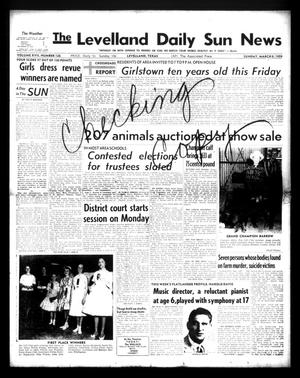 Primary view of object titled 'The Levelland Daily Sun News (Levelland, Tex.), Vol. 17, No. 126, Ed. 1 Sunday, March 8, 1959'.